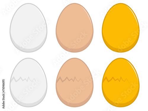 Egg Illustration - 76146695