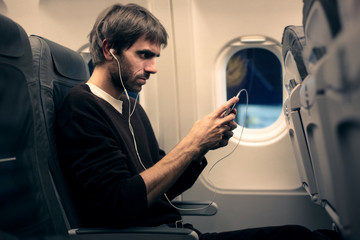 Music on the plane