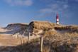 Leinwanddruck Bild - Lighthouse on Amrum