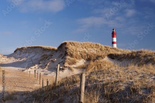 Fotobehang Vuurtoren / Mill Lighthouse on Amrum