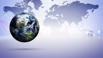 Earth and Business Concept Background