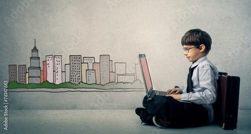 A future businessman