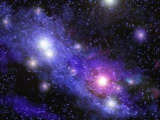 Nebula Digital Painting