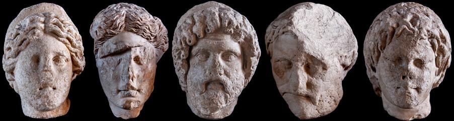 Roman Statue Heads