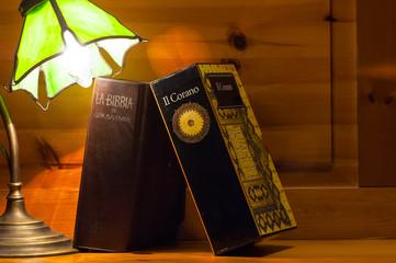 Bible and Koran toghether