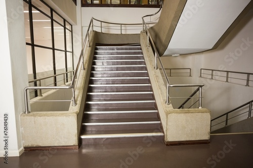Foto op Canvas Trappen Empty stair way