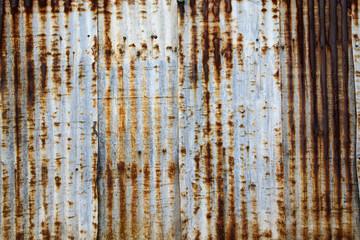 Grunge Rusty galvanized iron plate