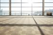 Airport corridor interior  - 76150219