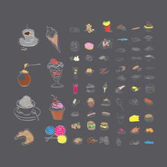 desserts  fast food