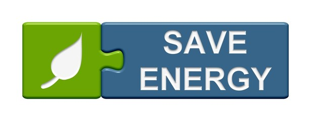 Puzzle Button: Save energy
