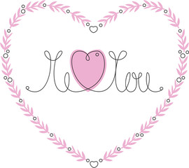Me and you heart