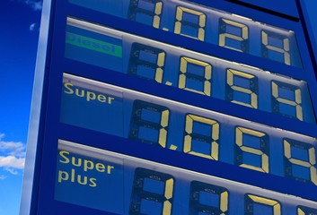 Tankstelle Benzinpreise