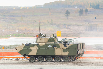Airborne tracked armoured vehicle BMD-4M