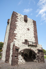 very old medieval castle on the island of La Gomera