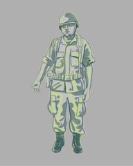 Soldier b