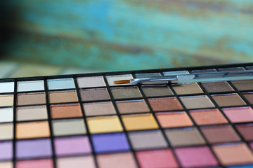 Large eyeshadow palette