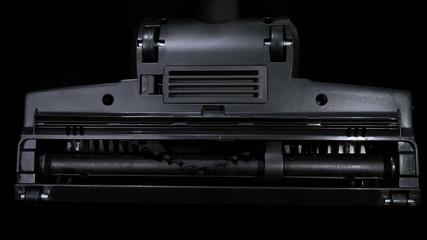 Vacuum cleaner brush. 4K UHD 2160p footage.