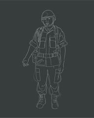 Soldier bb