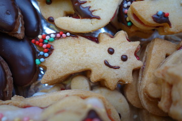 Christmas confectionery cute shortbread star comet