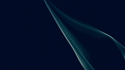 smoke loop on a black background