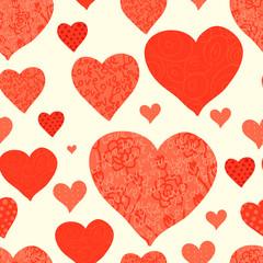 seamless valentine's day background
