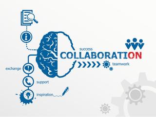 Collaboration concept.