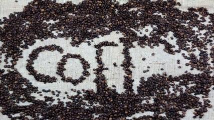 stop motion Coffee Bean