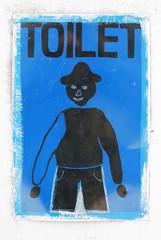 Nepal toilet restroom wc man sign
