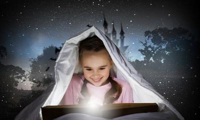 Reading before sleep