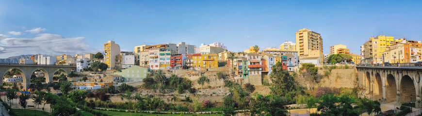 Painted Houses of Villajoyosa village, Costa Blanca