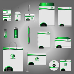 Stationery  template identity design vector