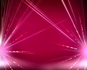 эффект  лазера