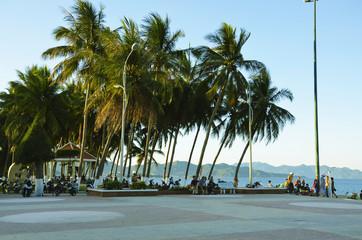 Seafront in Nha Trang, Vietnam