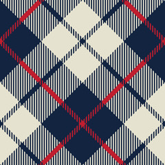 blue and beige fabric texture diagonal pattern seamless