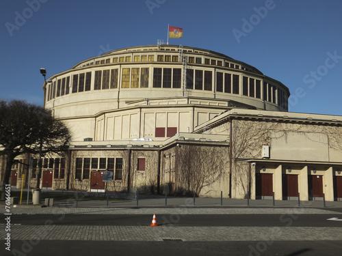Zdjęcia na płótnie, fototapety, obrazy : Hala Stulecia (Centennial Hall) also known as Hala Ludowa (Peopl