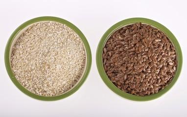 crusca avenae semi di lino