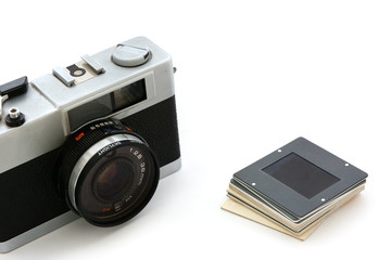 Kamera mit Dia