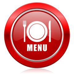 menu icon restaurant sign