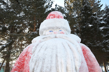 Father Frost sculpture