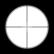 Sniper scope hunter on white background. - 76169087