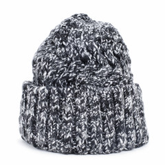 mottled knit cap
