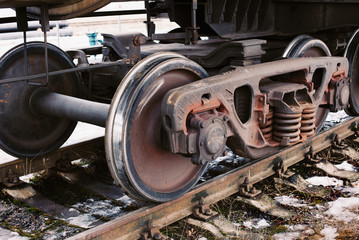 Industrial rail car wheels