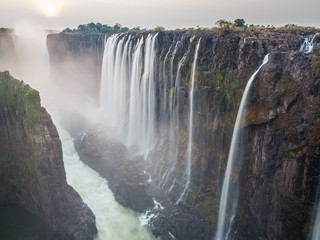 Victoria Falls sunset, Zambia side