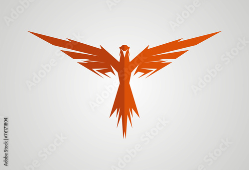 Eagle logo vector - 76171804