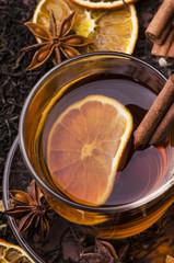 thè nero con aromi