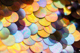Fototapety sequins pattern texture