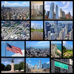 Chicago collage