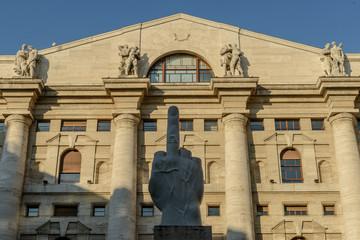 Milano, palazzo della Borsa 2