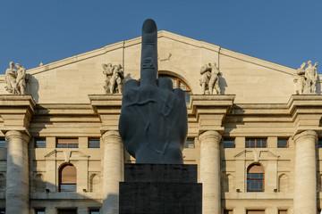 Milano, palazzo della Borsa 3