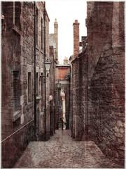 Vintage photo of Edinburgh